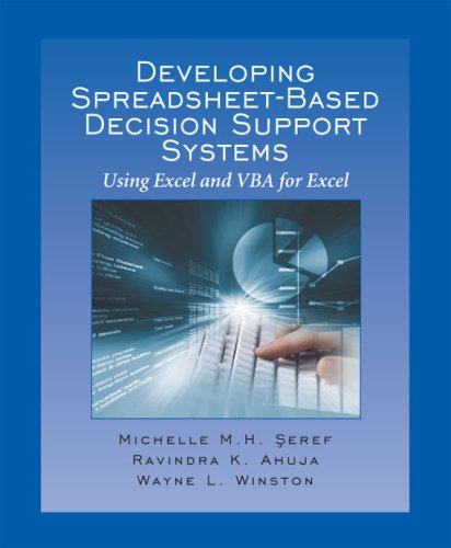 DEVEL.SPREADSHEET-BASED DECISI 1st edition cover