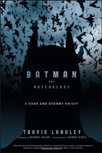 Batman and Psychology A Dark and Stormy Knight  2012 edition cover