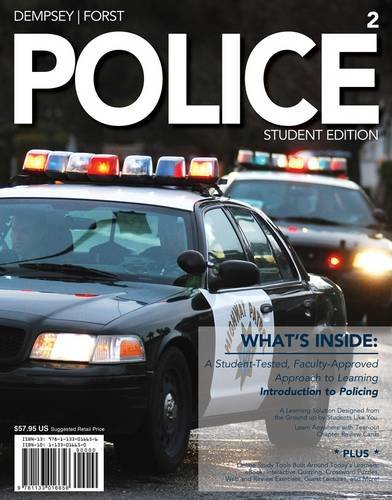 Police  2nd 2013 (Student Manual, Study Guide, etc.) edition cover