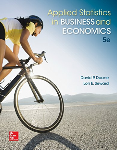 Applied Statistics in Business and Economics  5th 2016 edition cover
