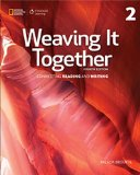 Weaving It Together:   2015 edition cover