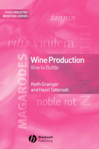 Wine Production Vine to Bottle  2005 (Revised) edition cover