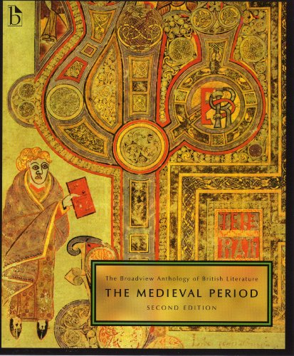 Broadview Anthology of British Literature The Medieval Period 2nd 2009 edition cover