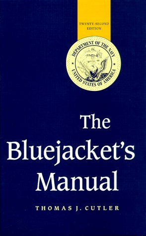 Bluejackets' Manual  22nd 1998 edition cover