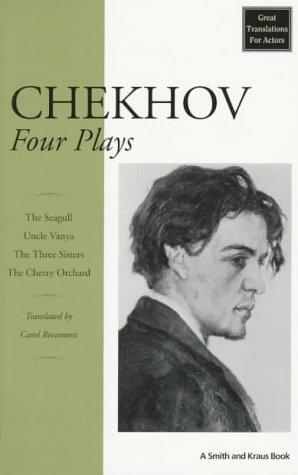 Chekhov Four Plays N/A edition cover