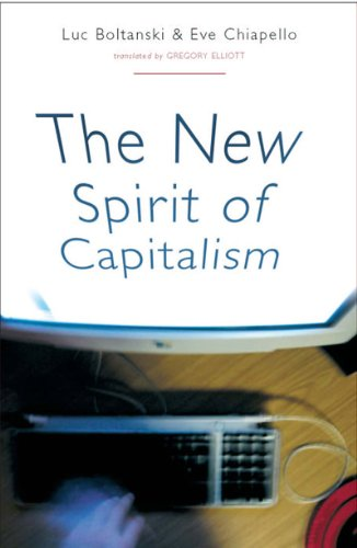 New Spirit of Capitalism   2007 edition cover