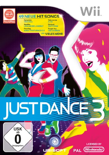 JUST DANCE 3 Nintendo Wii artwork