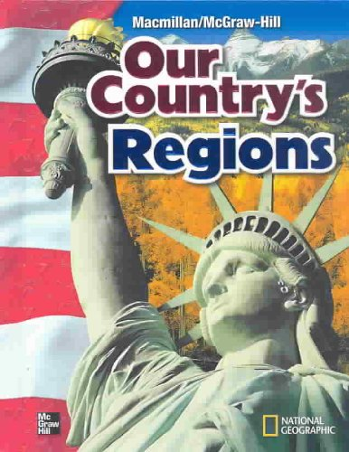 Our Country's Regions Student Manual, Study Guide, etc. edition cover