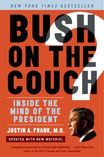 Bush on the Couch Inside the Mind of the President Revised edition cover