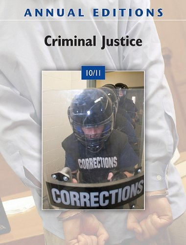 Criminal Justice 10/11  34th 2011 edition cover