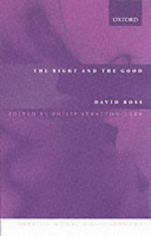 Right and the Good  2nd 2002 (Revised) edition cover