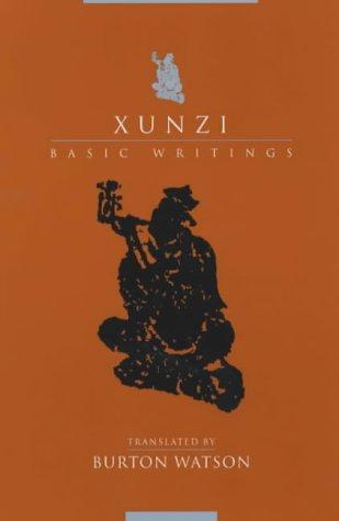 Xunzi Basic Writings  2003 edition cover