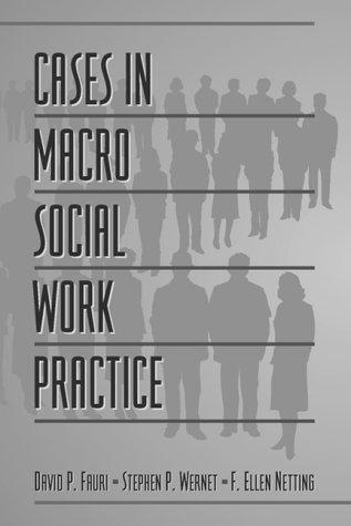Cases in Macro Social Work Practice   2000 9780321024657 Front Cover