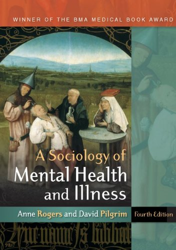 Sociology of Mental Health and Illness  4th 2010 9780335236657 Front Cover