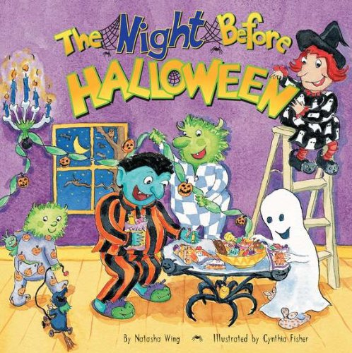 Night Before Halloween   1999 edition cover