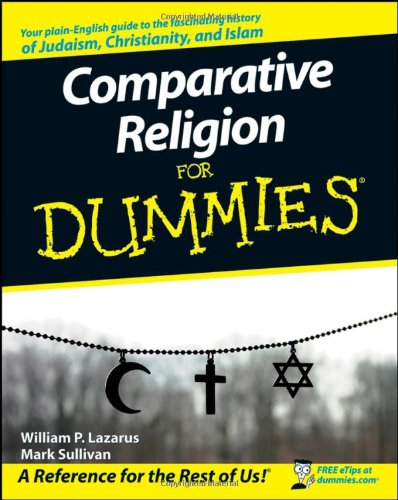 Comparative Religion for Dummies   2008 edition cover