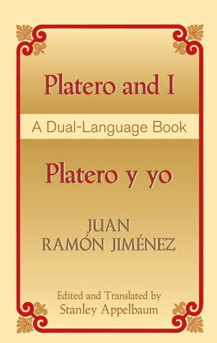 Platero and I/Platero y Yo A Dual-Language Book  2004 edition cover