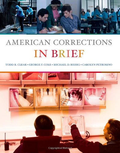 American Corrections in Brief   2012 edition cover