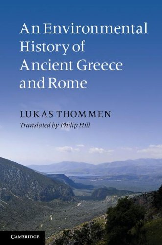 Environmental History of Ancient Greece and Rome   2012 edition cover