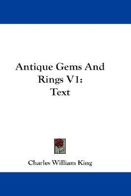 Antique Gems and Rings V1 : Text N/A edition cover