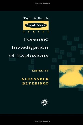 Forensic Investigation of Explosions   1998 9780748405657 Front Cover