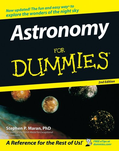 Astronomy for Dummies  2nd 2005 (Revised) edition cover