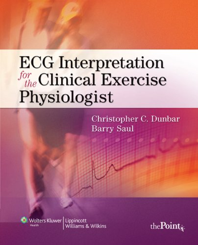 ECG Interpretation for the Clinical Exercise Physiologist  6th 2010 edition cover
