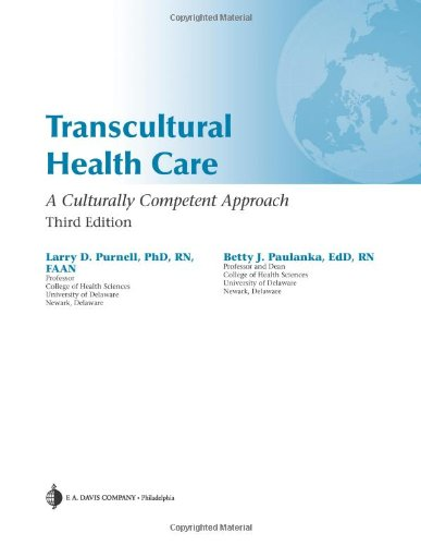 Transcultural Health Care A Culturally Competent Approach 3rd 2008 (Revised) edition cover