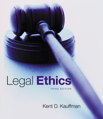 Legal Ethics  3rd 2014 edition cover