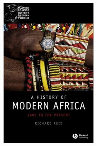 History of Modern Africa 1800 to the Present  2009 edition cover