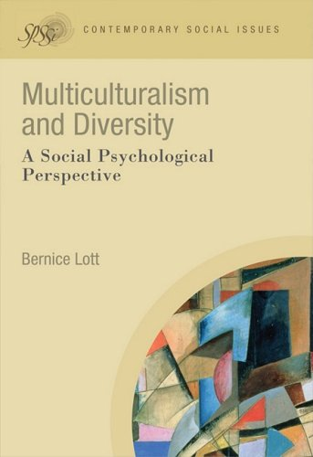 Multiculturalism and Diversity A Social Psychological Perspective  2009 9781405190657 Front Cover