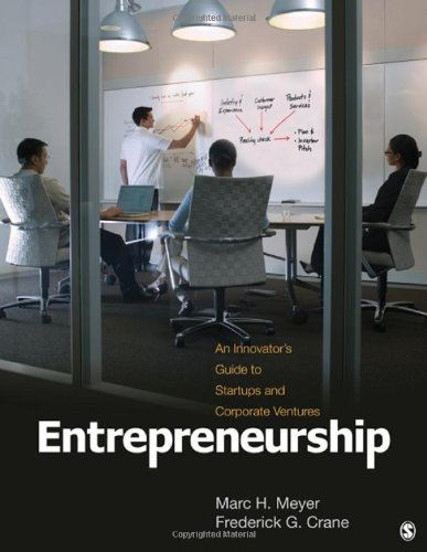 Entrepreneurship An Innovator's Guide to Startups and Corporate Ventures  2011 edition cover