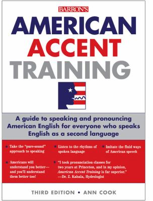 American Accent Training with 5 Audio CDs  3rd 2012 (Revised) 9781438071657 Front Cover