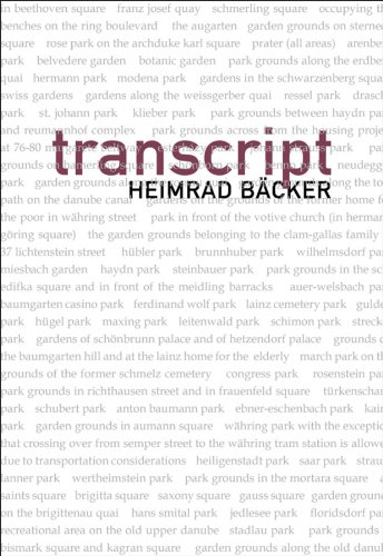 Transcript   2010 edition cover