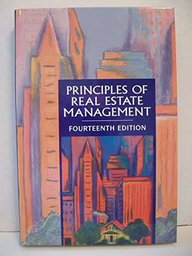 Principles of Real Estate Management 4th 2001 edition cover