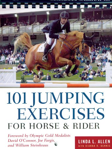 101 Jumping Exercises for Horse and Rider   2002 edition cover