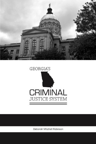 Georgia's Criminal Justice System  2011 edition cover