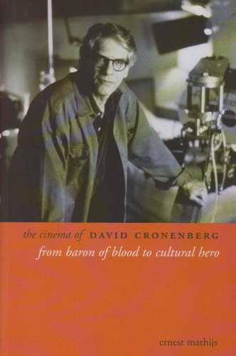 Cinema of David Cronenberg From Baron of Blood to Cultural Hero  2008 edition cover