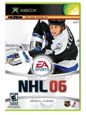 NHL 06 Xbox artwork
