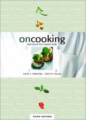 On Cooking Techniques from Expert Chefs 3rd 2003 edition cover