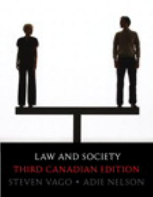 Law and Society  3rd 2011 9780135064658 Front Cover