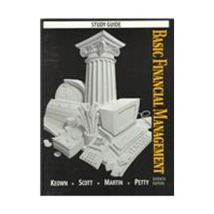 Basic Financial Management 7th 1996 (Student Manual, Study Guide, etc.) 9780135077658 Front Cover