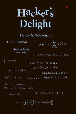 Hacker's Delight   2003 edition cover