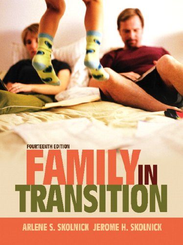 Family in Transition  14th 2007 (Revised) 9780205482658 Front Cover