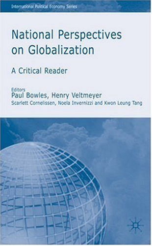 National Perspectives on Globalization   2007 9780230004658 Front Cover