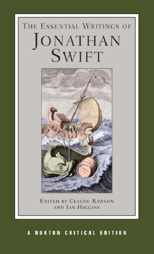 Essential Writings of Jonathan Swift   2007 edition cover