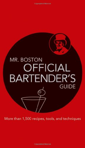 Mr. Boston Official Bartender's Guide 67th 2009 (Guide (Instructor's)) edition cover