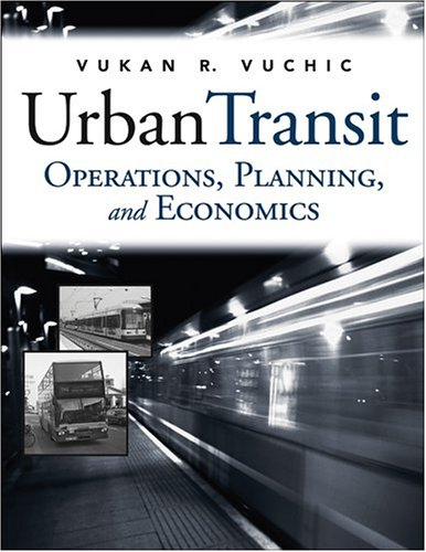 Urban Transit Operations, Planning, and Economics  2005 edition cover