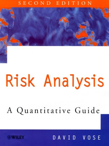 Risk Analysis A Quantitative Guide 2nd 1999 (Revised) 9780471997658 Front Cover