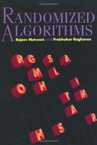 Randomized Algorithms   1995 edition cover